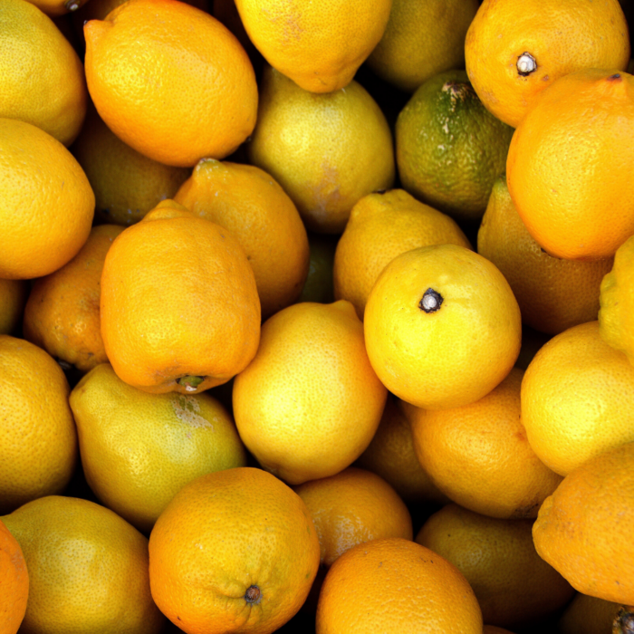 Lemons used for Natural Colors
