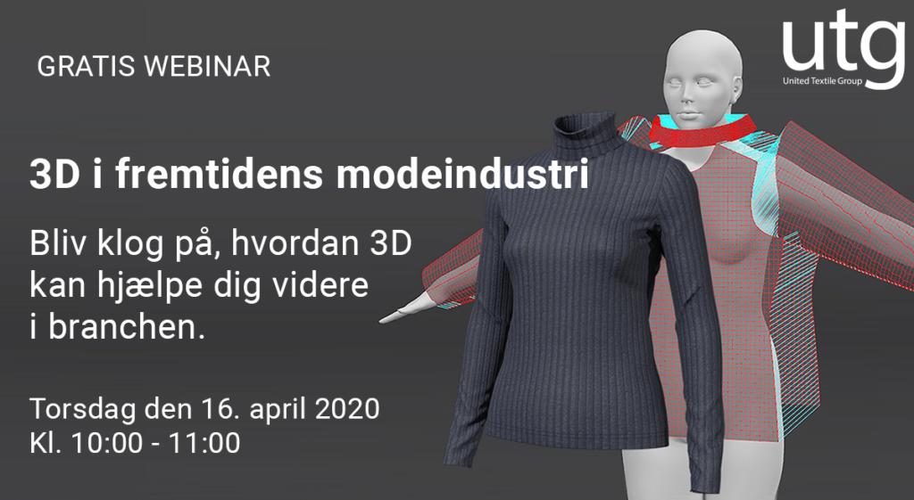 3D i Fremtidens modeindustri