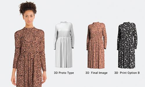 3D Dresses United Textile Group